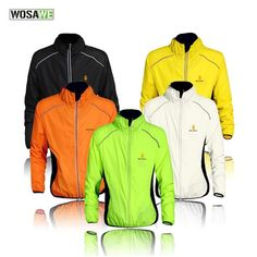 Fashion  BestPrice WOSAWE Brand Unisex Windproof Cycling Jackets Men Women  Long Sleeved Water Resistant 4afb7606e