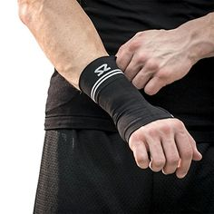 Zensah Compression Wrist Support  Wrist Sleeve for Wrist Pain Carpal Tunnel  Wrist Support  Wrist Brace Black Large >>> Read more  at the image link. Note:It is Affiliate Link to Amazon.