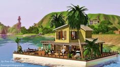 Sims 3 Finds - Houseboat at Frau Engel