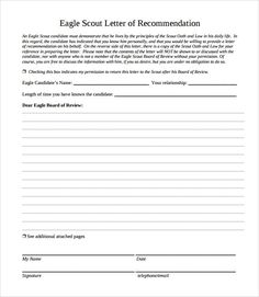 eagle scout letter of recommendation sle from parents eagle scout boy scouts scouting