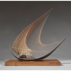 gabo naum spheric theme black ||| abstract ||| sotheby's n08988lot6vf2wen