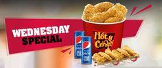 #KFC #WednesdayOffers