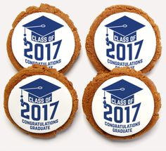 Class of 2017 Cookies! The perfect gift to make grad 2017 even more special! This is a one-of-a-kind gift that they will never forget.