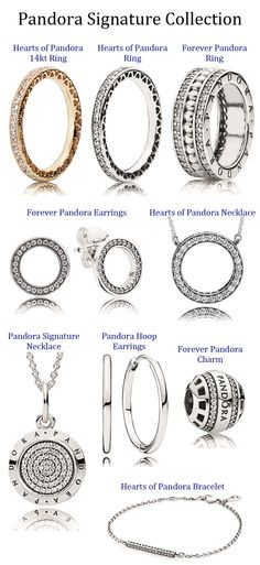 Pandora Signature Collection available at Exclusively Diamonds