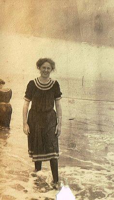 Seashore vintage bathing suit
