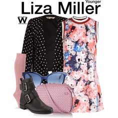 Inspired by Sutton Foster as Liza Miller on Younger.