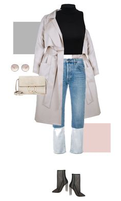 """""""This jean"""" by fanfan-zheng ❤ liked on Polyvore featuring Ports 1961, Chloé and Prada"""