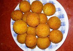 Sajtgolyó villámgyorsan recept foto Sweet Potato, Peach, Potatoes, Fruit, Vegetables, Food, Peaches, Potato, Veggies