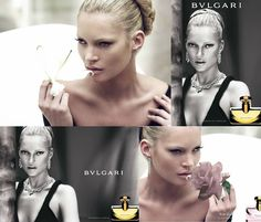 """The perfume has to live long on the skin, and create an aura around it's wearer."" Sophia Grojsman, the nose behind Bvlgari Pour Femme which had Kate Moss as the face of the fragrance"