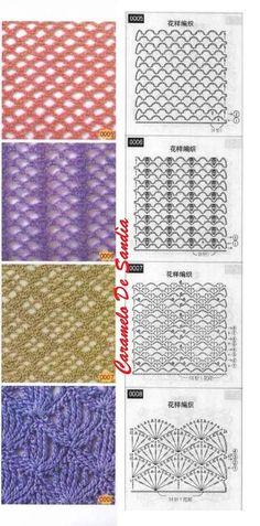 Crochet stitches: