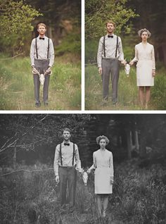 vintage wedding. too far over the edge or worth it? probably won't want to look back at my wedding pictures holding a head. just saying.