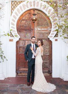 Palm Springs Wedding at Korakia Pensione: Jenny + Levi