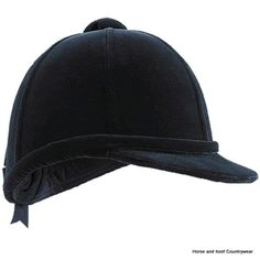 Owens Beagler Hats - Black This is a traditional velvet covered hunting cap It retains the classical profile and elegant appearance that etiquette
