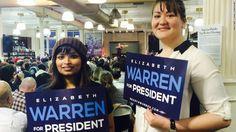 """Elizabeth Warren tells Wall Street """"bring it on."""""""