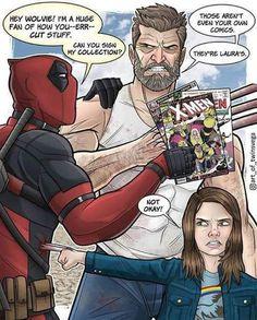 Nice comeback Deadpool. Nice comeback