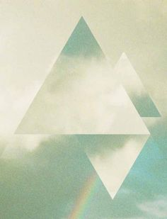Triangles photographic manipulations