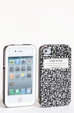 kate spade new york 'composition notebook' iPhone 4 & 4S case available at #Nordstrom