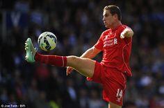 Jordan Henderson has established himself as a key member of Brendan Rodgers' Liverpool team