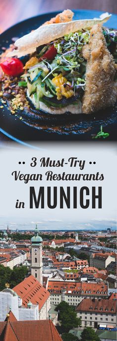 3 Vegan Restaurants You Have To Try When Visiting Munich - Visiting Germany? Discover 3 must-try vegan restaurants in Munich! Vegan Iron Sources, Berlin Vegan, Visit Munich, Best Vegan Restaurants, Easy Recipes For Beginners, Veg Recipes, Vegan Dinners, Going Vegan, Foodie Travel