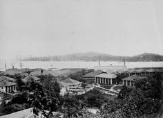 1860-1900 - SINGAPORE, NEAR THE DOCKS