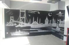 kabartma istanbul dekor çalışması