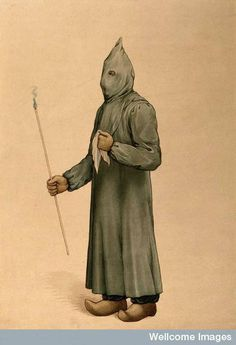 Not everyone wore a plague mask. A physician wearing a plague preventive costume in Marseille (1720)