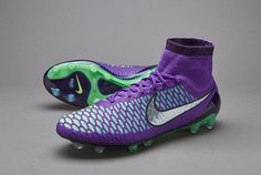 Nike Magista Obra FG - Hyper Grape/Metallic Silver/Fierce Purple/Green