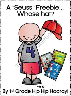 A Seuss Freebie...Whose Hat? product from First-Grade-Hip-Hip-Hoora on TeachersNotebook.com