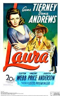 Best suspense romance. Dana Andrews was so handsome. Gene Tierney is so stunning.