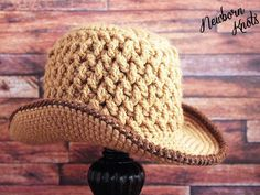 Weaving Baby Cowboy Hat