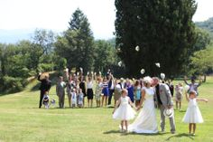 A #wedding to remember in Tuscany