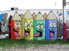 Street Art News: Dabs Myla New Murals In Detroit