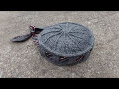 CROCHET How To #Crochet Tie or Belt Handbag Purse TUTORIAL #340 - YouTube