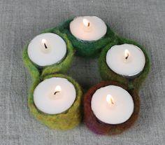 Duo Fiberworks - Duo Fiberworks - Free Pattern: Candle Holder String