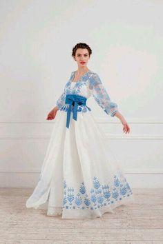 Exclusive dress: sale, price in Kiev. women's dresses by Oksana Polonets Design Studio - 503977592 - Trend Designer Dresses Indian 2019 Look Fashion, Hijab Fashion, Fashion Dresses, Womens Fashion, Latest Fashion, Fashion Trends, Evening Dresses, Summer Dresses, Formal Dresses