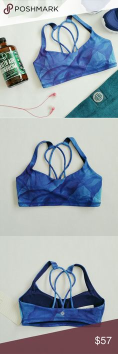 - New Item - Lululemon Free To Be Bra Free to be bra A lightweight bra designed with the small-busted yoga enthusiast in mind.  Full-On Luxtreme fabric's interlock construction offers great support and coverage  with a cool, smooth feel.  Added Lycra fibre for stretch and shape retention.   Pockets for optional, removable cups.  This bra is intended to provide light support for an A/B cup. Lululemon  Tops Tank Tops