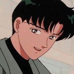 Sailor Moon Aesthetic, Aesthetic Anime, Old Anime, Anime Guys, Chiba, Moon Icon, Anime Stars, Sailor Moon Wallpaper, Sailor Moon Art