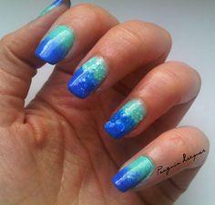 Acid Wash LE: http://penguinlacquer.blogspot.de/2014/08/mein-look-mit-den-acid-washs-mint-blau.html #nails