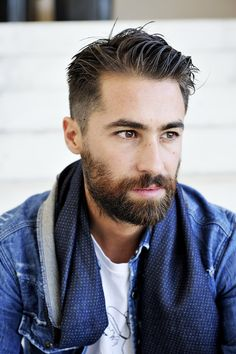 30 Top Fade Hairstyles For Men That Are Highly Popular In 2019 – Men's Hairstyles and Beard Models Mens Medium Length Hairstyles, Mens Hairstyles Fade, Cool Hairstyles For Men, Messy Hairstyles, Wedding Hairstyles, Medium Hair Styles, Natural Hair Styles, Short Hair Styles, Best Short Haircuts