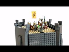 Gradior: A Medieval LEGO Castle That Transforms Into a Walking Robot #lego