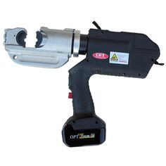 EPB-4001 Battery Operated Cable Crimping Tool. Crimping Range 35-400mm². 18V 4Ah Li-Ion battery. OPT Electricians Tools. Made in Taiwan