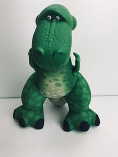 Disney Toy Story Rex the Roaring Dinosaur Soft Toy Fisher Price Mattel 2009 Jellycat, Build A Bear, Disney Toys, Fisher Price, Toy Story, Dinosaur Stuffed Animal, Plush, Animals, Ebay