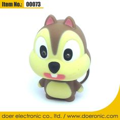 Squirrel Sound Mini Flashlight Keyring Key Fob | Doer Electronic the Animals Novelty Gadgets Supplier from China, Welcome to the World of Animals Fun.