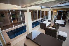 Realm Building Design Echuca - Murray Drive - pool - alfresco - fencing - outlook -