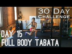 Day 15: Full Body Tabata Burn - Betty Rocker 30 Day Bodyweight Challenge