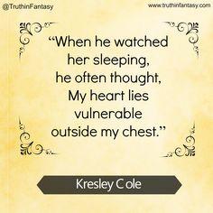 Love Kresley Cole!  #KresleyCole #PNR #amreading #books #quotes #paranormal #romance