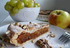 Jablkový koláč s karamelom a orechmi Czech Recipes, Sweet Bakery, Healthy Cookies, Apple Pie, A Table, Banana Bread, Ale, French Toast, Ice Cream