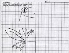 Google Image Result for http://dreamartteacher.com/Teaching/Level%201/Graphite/symmetrical%20frog.jpg
