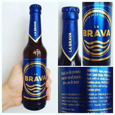 La Cerveza del Viernes: La Brava. Sabor a cereal a pan fresco ligera y refrescante de amargor moderado por lúpulo Saaz. Cuerpo medio bien equilibrado.