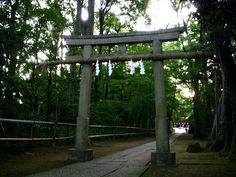 喜多見 氷川神社 二の鳥居